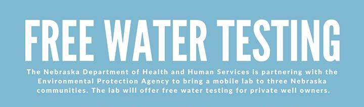 Free Water Testing Kit Information   WDN – Wayne Daily News