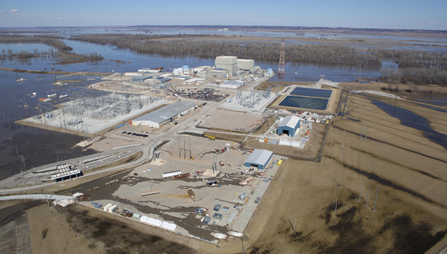 Flood Fears Drop at Brownville Nuclear Plant