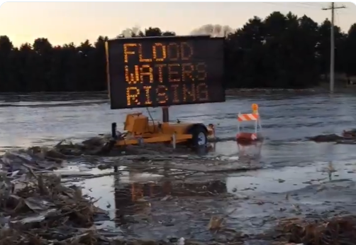 Valmont Evacuated After Nearby Levee Breaches