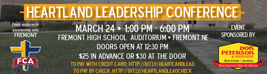 Fremont High to Host Heartland Leadership Conference