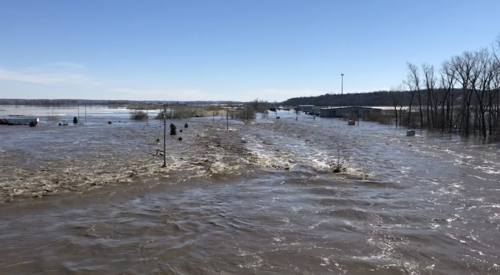 Mills County evacuation issued Saturday morning