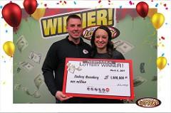 Fremont Man Wins $1M Playing Powerball