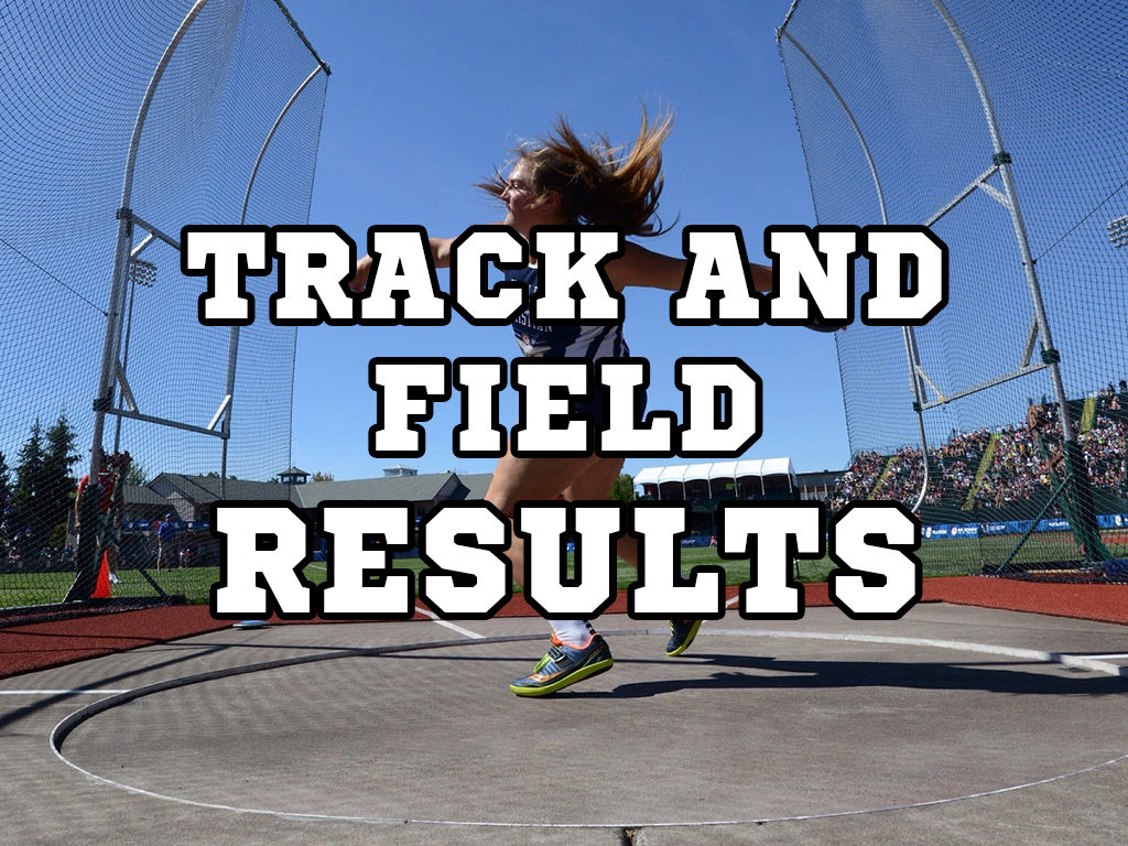 Class  D5 District Track Results