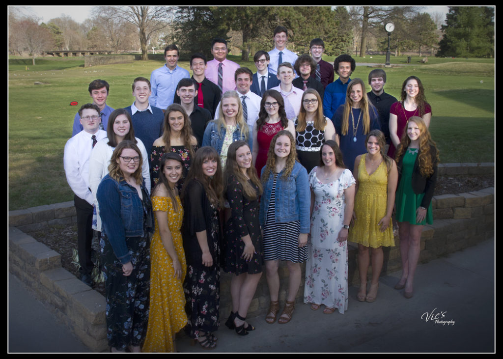 34 High Achieving Tigers Honored at FPS Foundation Academic Banquet