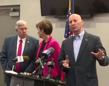 Floods Find Ricketts and Fellow Governors Talking Change But Short on Specifics