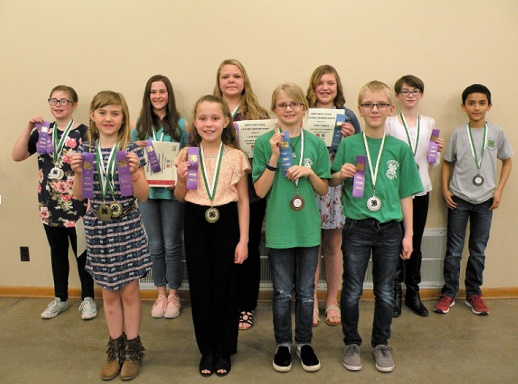 Custer County 4-H Public Speaking Contest Results 2019