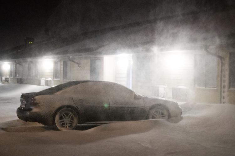 Blizzard shuts down interstates in western Nebraska; hail, strong winds in southeast