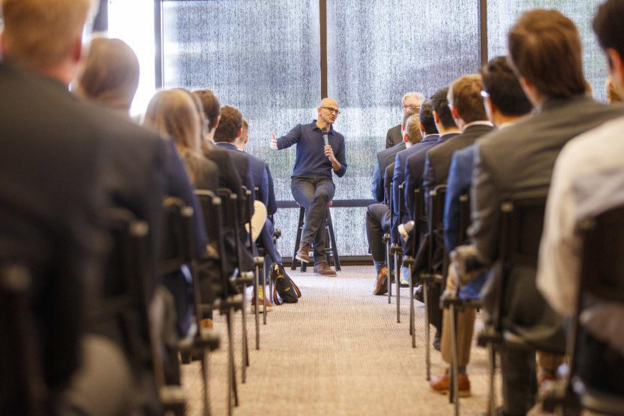 Microsoft CEO Satya Nadella speaks on 'notion of empathy' in life and work at UNL