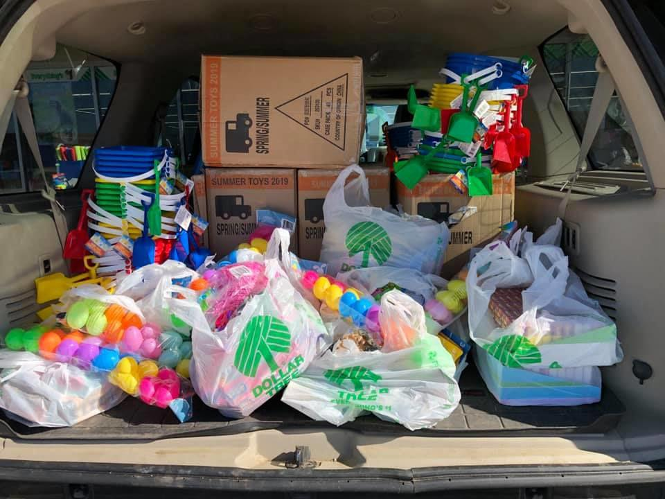 Easter baskets hopping down from Michigan to cheer Iowa children impacted by flooding