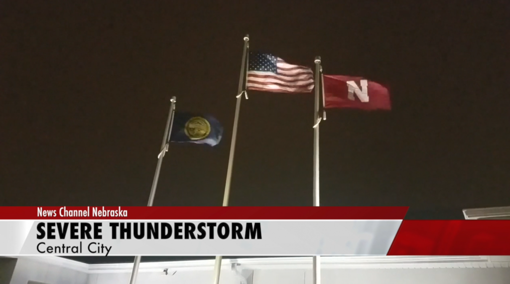 Central City sees severe weather