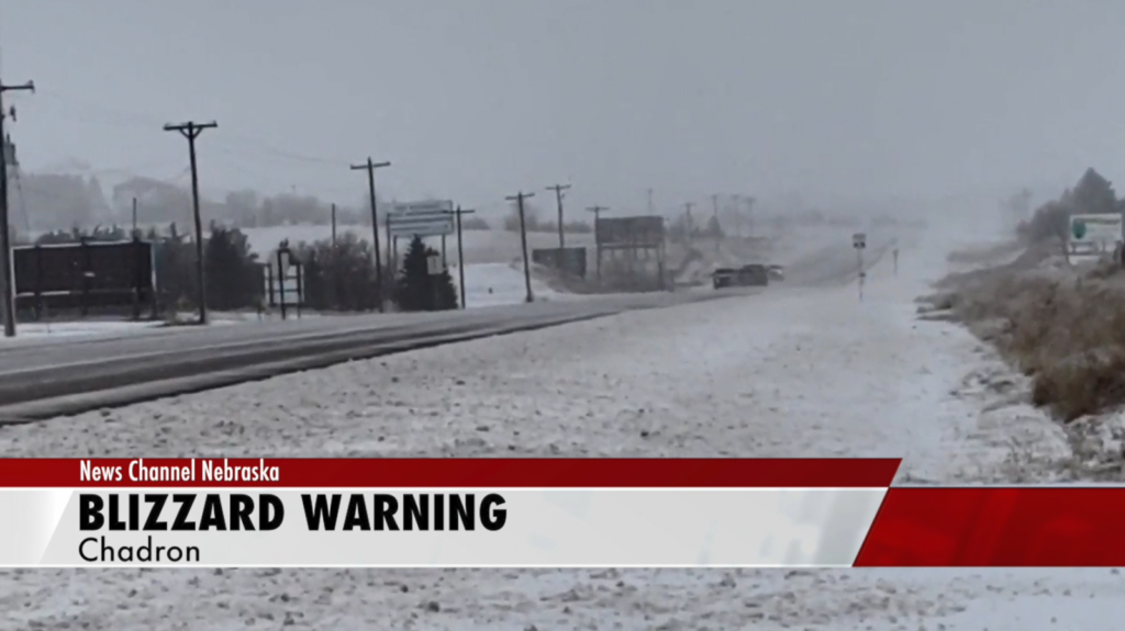 Another blizzard in northwest Nebraska
