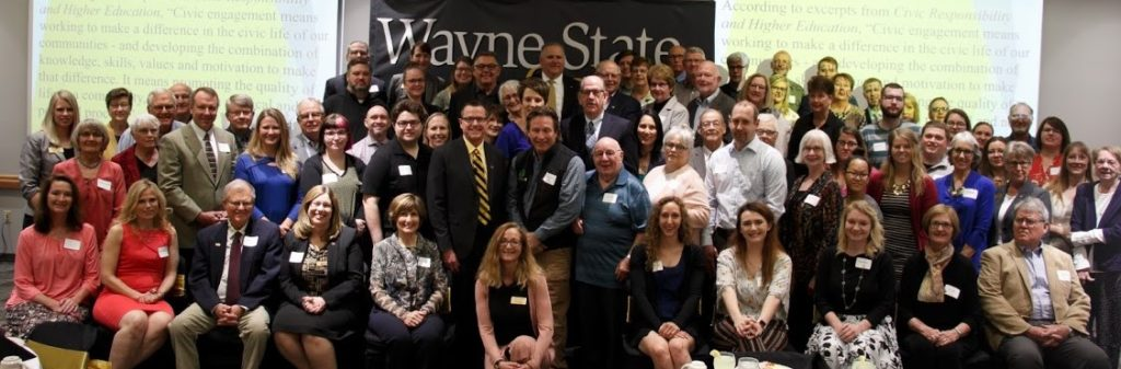 Wayne State Hosted Ron Holt Civic Engagement Award Luncheon