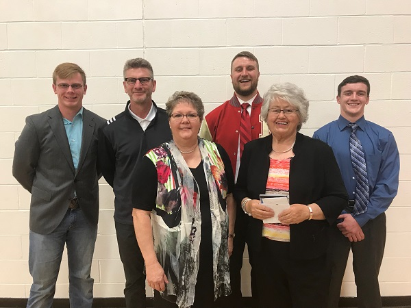 Burton, Jarzynka Deliver Strong Faith/Family Messages At Arcadia Annual Family Banquet