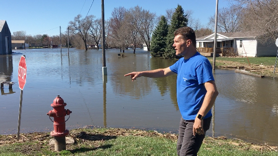 Flood Hits Home For Christian Disaster Volunteer