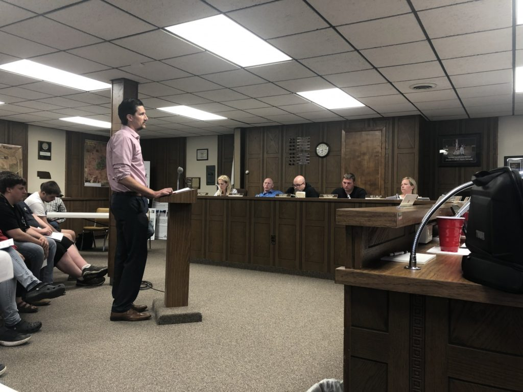 Bid For Nebraska Street Improvement Project Accepted During City Council Meeting Tuesday Evening