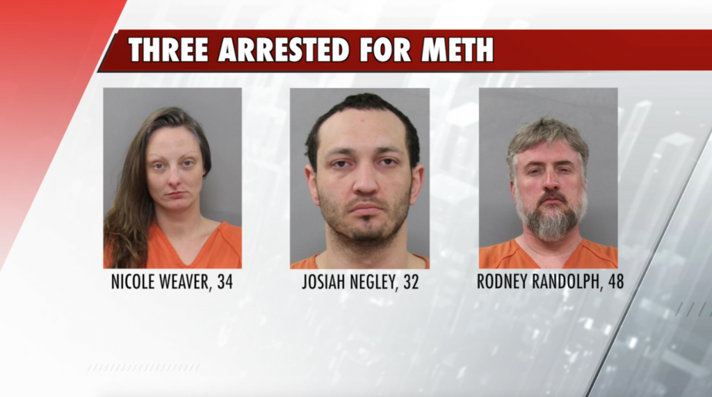 Three Kearneyites arrested for selling meth