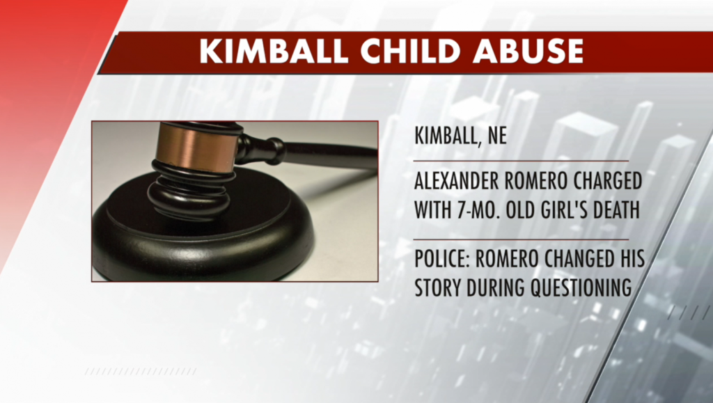 Man charged with child abuse in death of infant daughter
