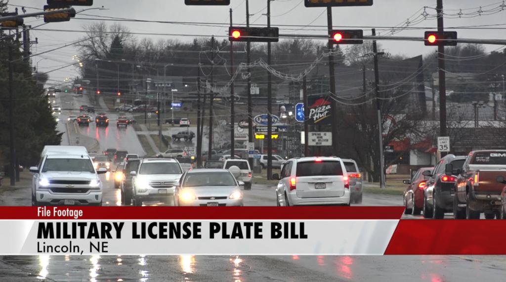 Nebraska advances bill to create military license plates