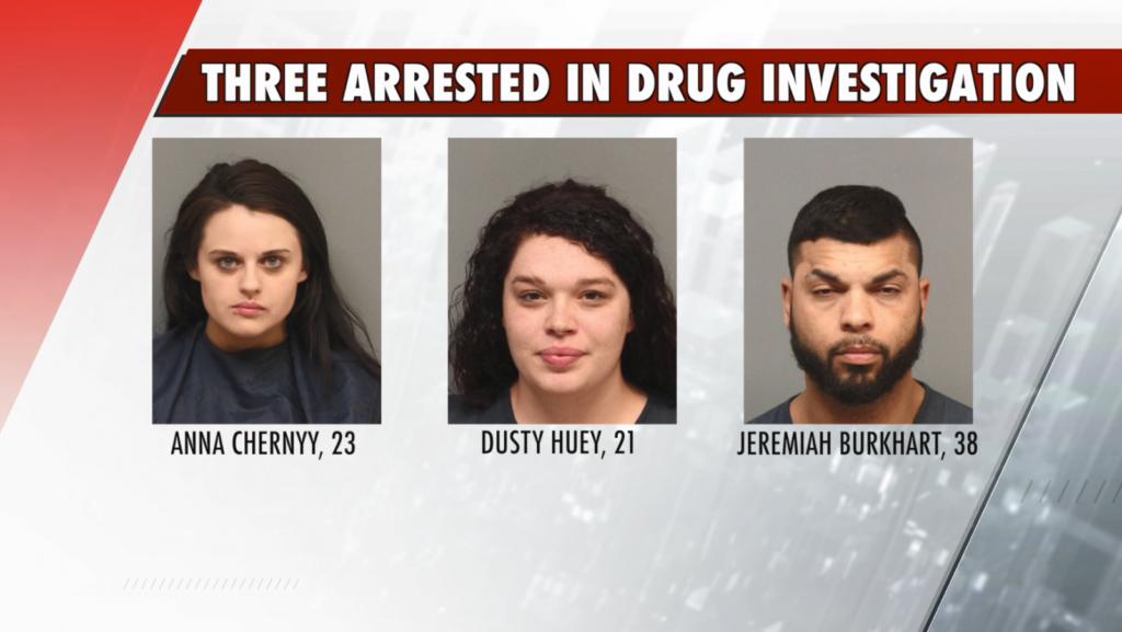 Three arrested in Lincoln drug investigation