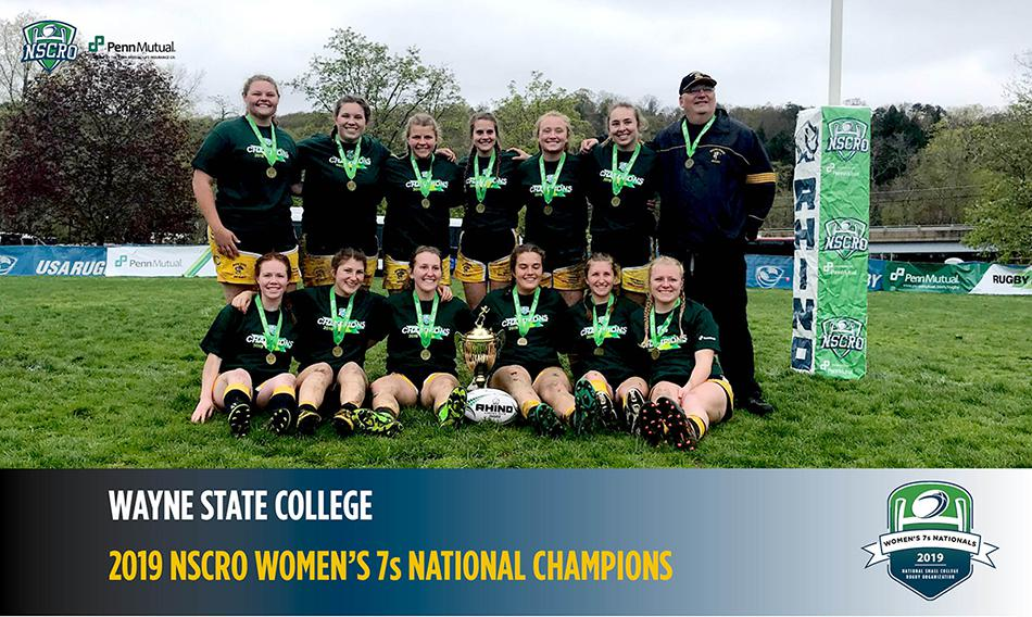 Wildcat Women's Rugby Outscored Opponents 145-31 On Way To Defending NSCRO 7s Title