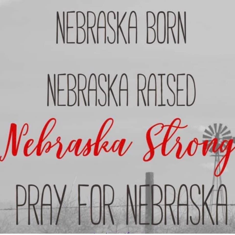 Nebraska Flood Relief Fun Run on April 13