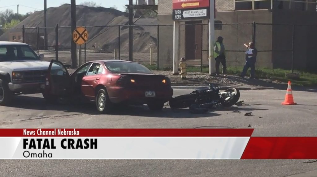 Motorcyclist dies following collision Wednesday in north Omaha