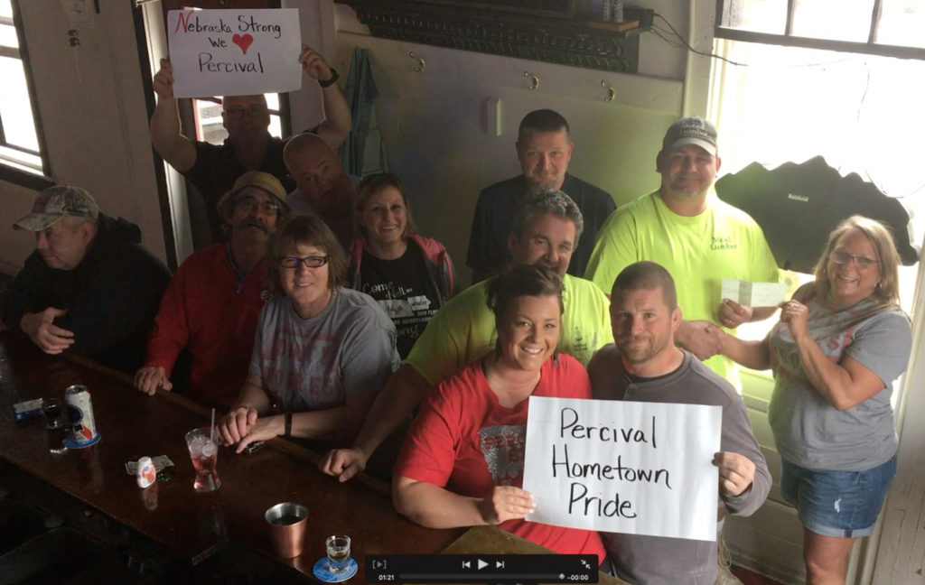 Dinty Moore's Raises Funds For Flooded Neighbors At Percival