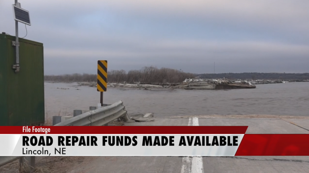 $25 million made available for repairs to flood-damaged roads