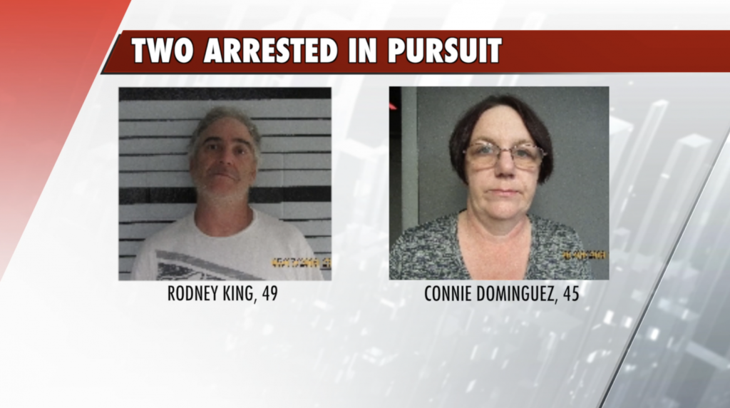 Two Arrested Following Pursuit, Manhunt in Wayne County