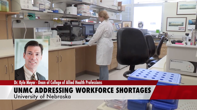 UNMC College of Allied Heath Professions is Tackling Workforce Shortage