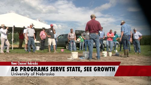 University of Nebraska Ag Programs Serve State, See Growth