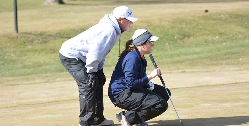 Lady Warrior Golfers Finish Season at GPAC Qualifier