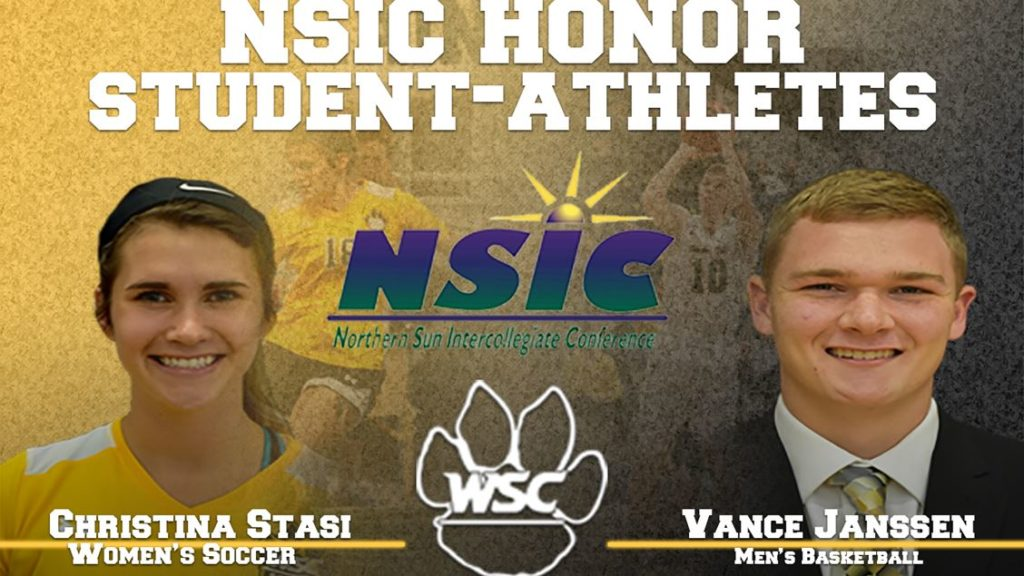 Nebraska Natives, Wayne State's Vance Janssen And Christina Stasi Receive NISC Honor Awards