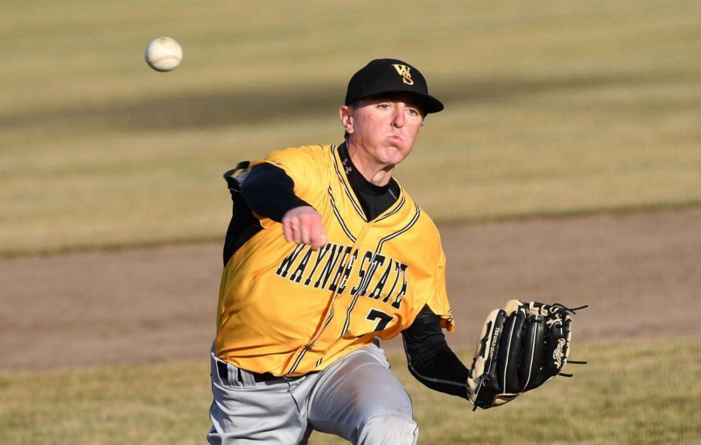 Game Two Scoring Allows Wayne State Baseball To Split On Road