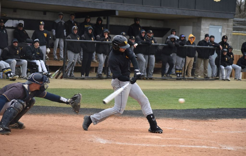 Vikings Take Two Doubleheader Games From Wildcat Baseball Team On Senior Day