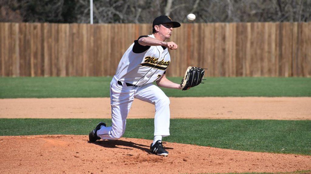 Obrecht Earns NSIC Baseball Pitcher Of The Week