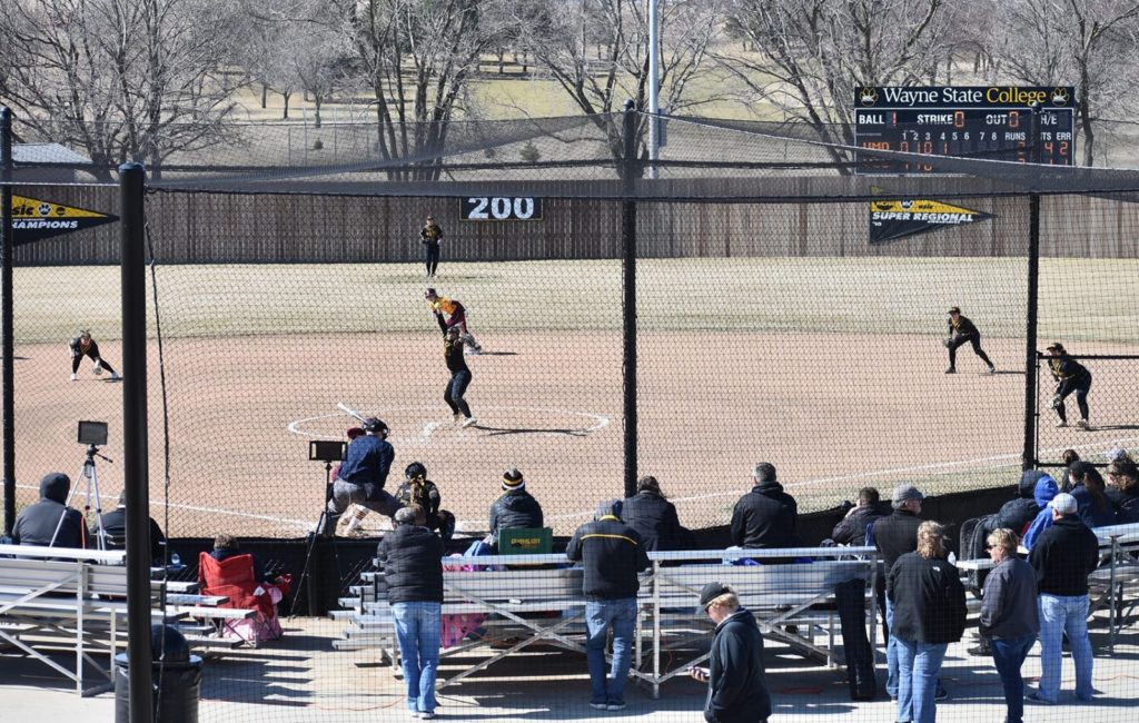 Sioux Falls Uses Run-Rule Advantage Over Wildcat Softball