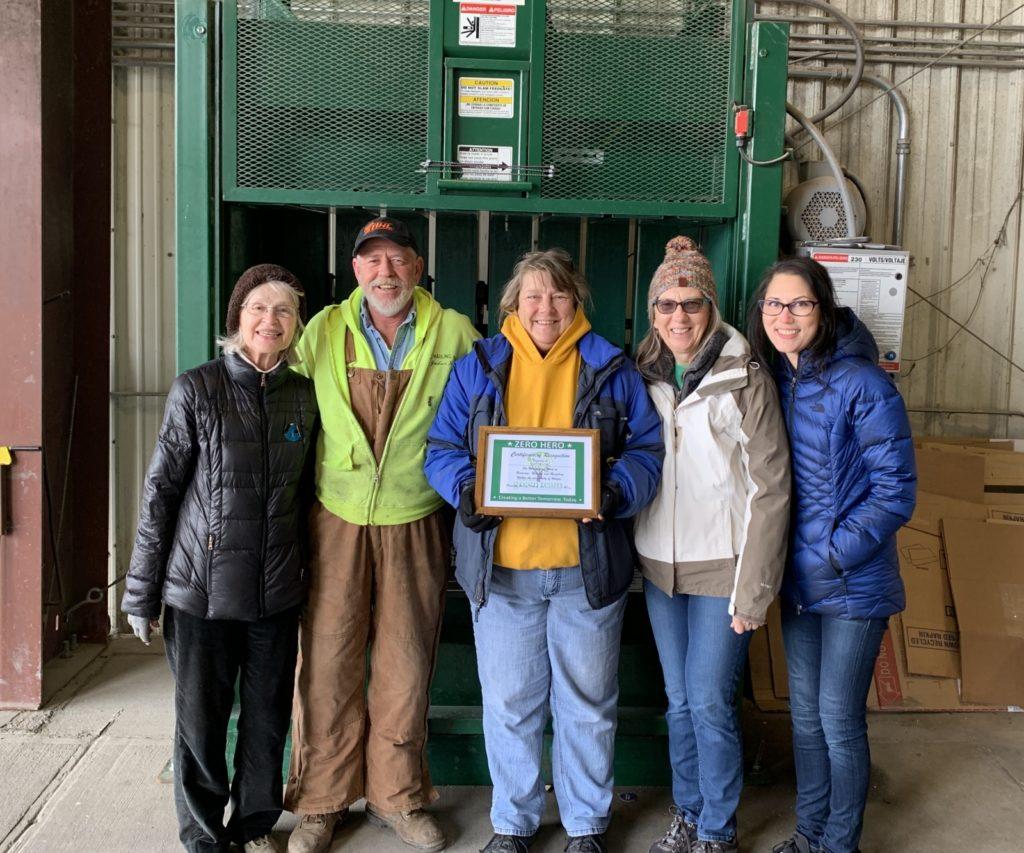 Zero Hero Award Recognizes Employees Of Gill Hauling