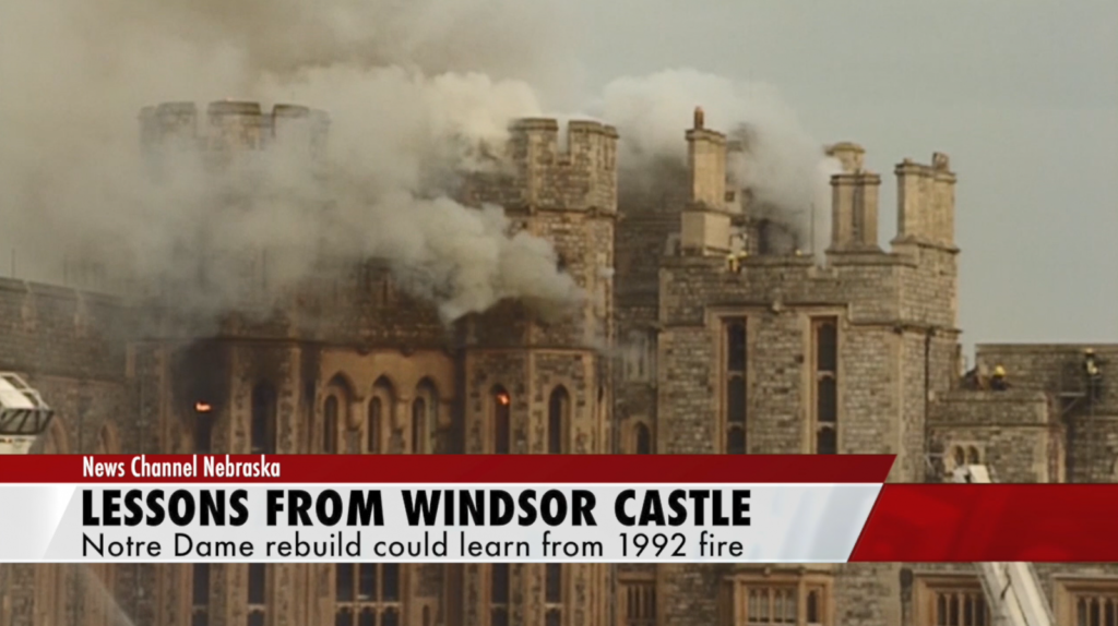 Notre Dame lessons from Windsor Castle