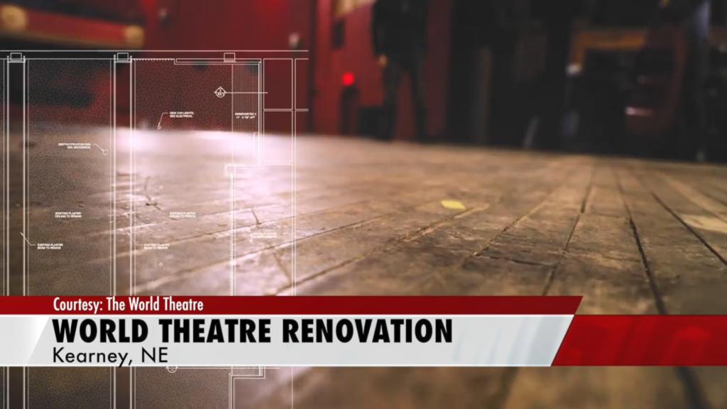 Kearney World Theatre announces renovations