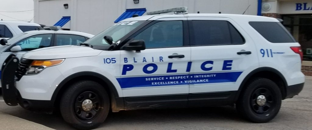 Adding Police, Storage Business on Blair City Council Agenda