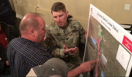 Col. Hudson Outlines Top Priorities For Levee Repair