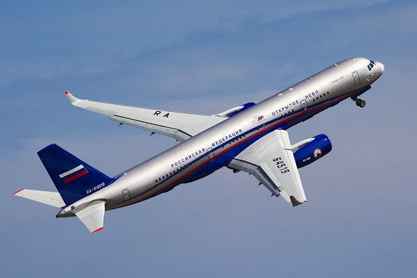 Did You See The Russian 'Spy' Plane?