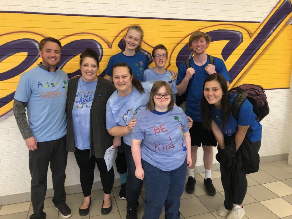 Nebraska City lighting it up blue for autism awareness