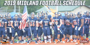 Midland Announces 2019 Football Schedule
