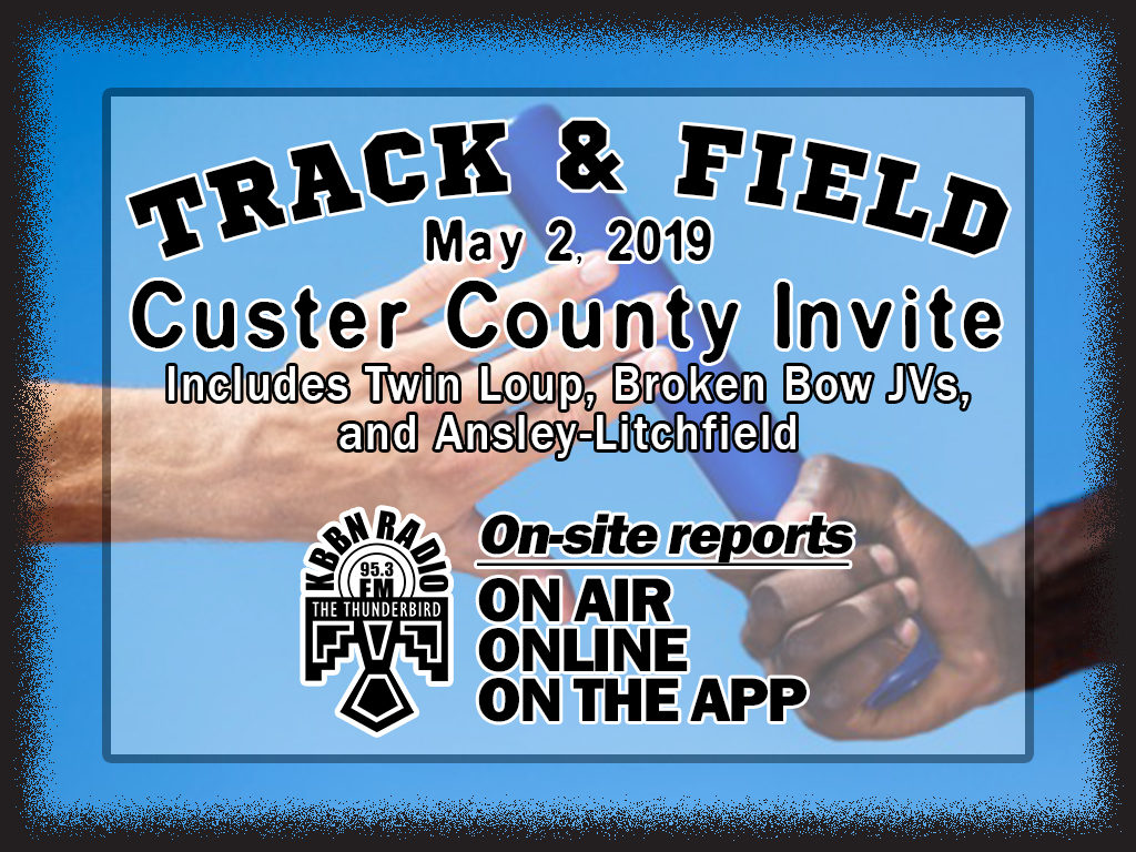 Custer County Track Meet Reports on KBBN