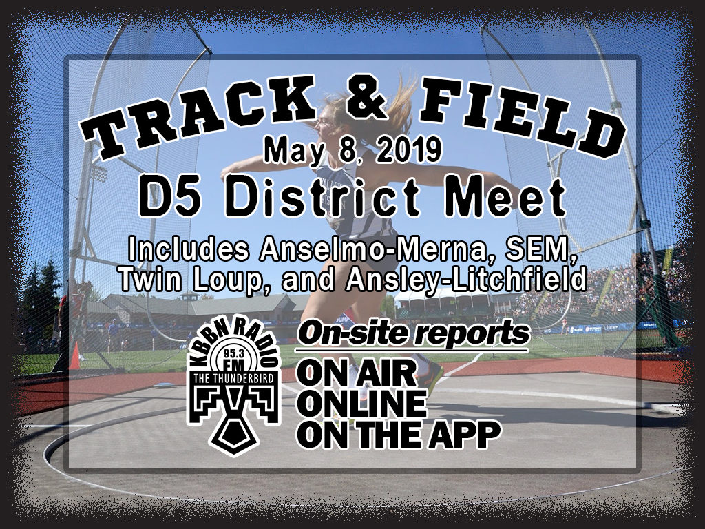 Class D District Track Scheduled for Today
