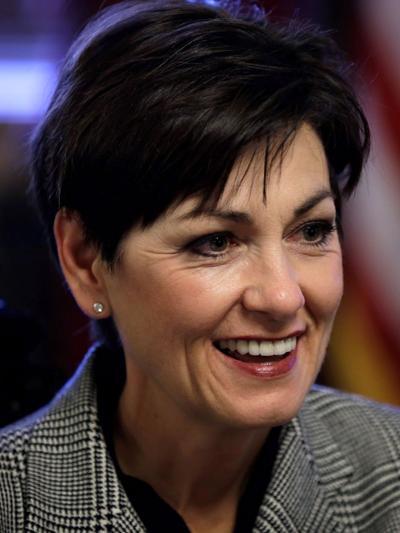 Iowa Gov. Reynolds bucks own party, blocks bill aimed at stopping anti-Trump suits