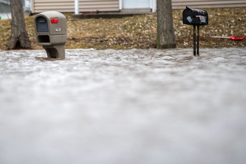 With flood risks rising, officials advise that people prepare to evacuate at a moment's notice