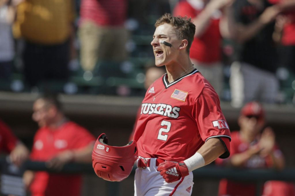 Nebraska shuts out Michigan in first game, but Wolverine homers prove too much in the second